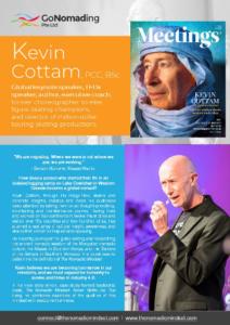 Global keynote speaker